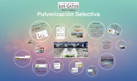 Pulverización Selectiva