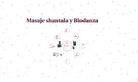 Masaje shantala y Biodanza