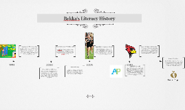 Bekka's Literacy History