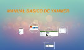 Copy of MANUAL BASICO DE YAMMER
