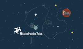 Mission Passive Voice