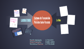 Copy of Sistema de Transmicion Paralelo-serie-Paralelo
