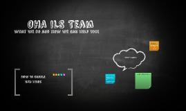 OHA ILS Team