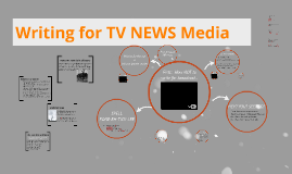 Writing for TV NEWS
