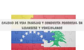 CALIDAD DE VIDA FAMILIAR Y CONDUCTA PROSOCIAL EN LIBANESES Y