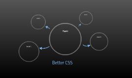 Better CSS