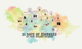 Copy of 21 Days of kindness
