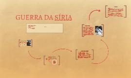 Copy of GUERRA DA SÍRIA