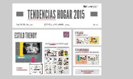 TENDENCIAS HOGAR 2015