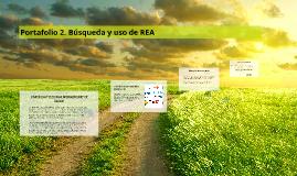 Portafolio 2. Búsqueda y uso de REA