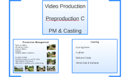 VP: Preproduction C
