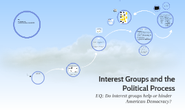 Interest Groups and Politcal