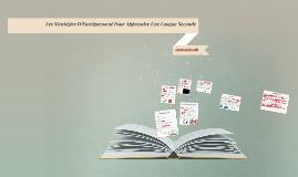 Exposé: Les Stratégies D'Enseignement Pour Apprendre Une Lan