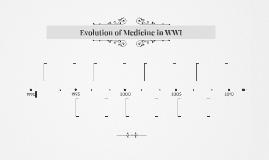 Evolution of Medicine in WWI