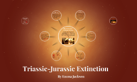 Triassic-Jurassic Mass Extintion