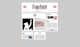 Copy of El cop d'estat: 23-F