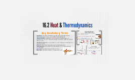 16.2 Heat & Thermodynamics