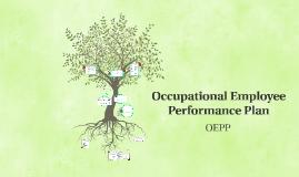 Occupational Employee Performance Plan