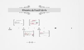 Histoire outil devis