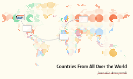Countries From All Over the World