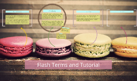 Flash Terms and Tutorial
