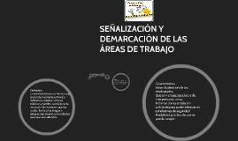Copy of SEÑALIZACIÓN Y DEMARCACIÓN DE LAS ÁREAS DE TRABAJO