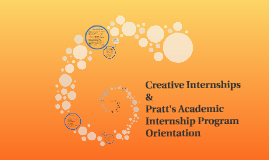 Creative Internships & Pratt's Academic Internship Program