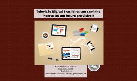 Televisão Digital Brasileira: um caminho incerto ou um futur