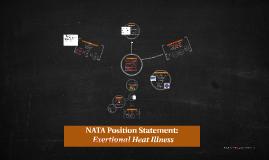 NATA Position Statement: Exertional Heat Illness