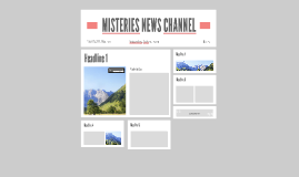 MISTERIES NEWS CHANNEL