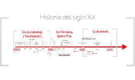 Línea Tiempo Siglo XX