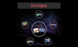 Eras eologicas