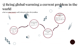 5) Being global warming a current problem in the world, what