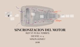 SINCRONIZACION DEL MOTOR