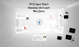 Copy of Copy of BTEC Sport Unit 3