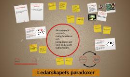 Ledarskapets paradoxer