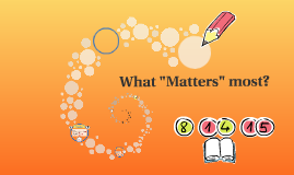 """What """"Matters"""" most......."""