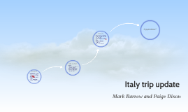 Italy trip update