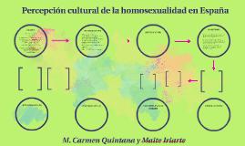 Percepción cultural de la homosexualidad en España