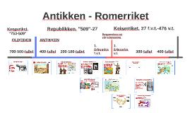Copy of Antikken Tidslinje - Romerriket