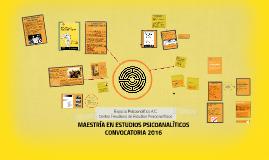Copia de Maestría en Estudios Psicoanalíticos, presentación