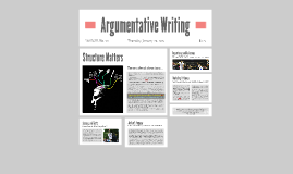 Copy of Argumentative Writing