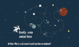 Gravity - a non contact force