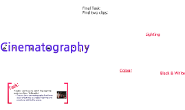 As Film Studies Week 2 Cinematography