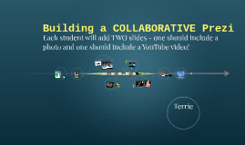 Building a COLLABORATIVE Prezi