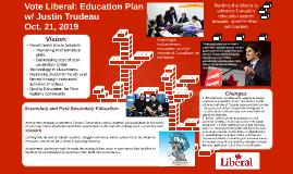 Vote Liberal Education Plan w/