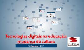 28º CONGRESSO DE EDUCAÇÃO DO SINPEEM  27/11/2017