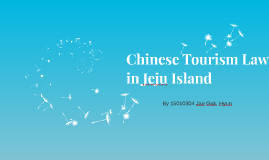 Chinese Tourism Law