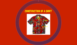 Copy of Buttons - Construction of a Shirt