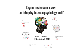 Psychology and Information Technology